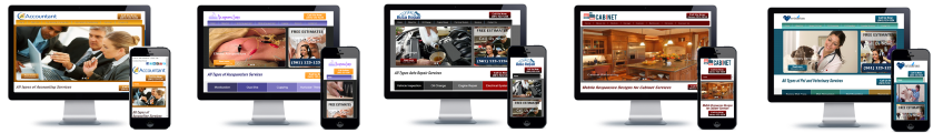 Affordable mobile responsive websites for small business.