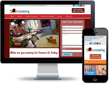 Search Engine Optimized Mobile Responsive website Designs