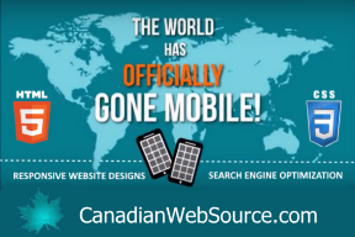 Canadian Web Source - Mobile Responsive Websites for Small Business